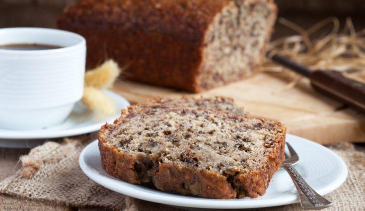 best ever banana bread, homemade bread, breakfast