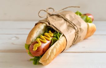 Hot dog with mustard and lettuce, 5 ways to top your hot dog