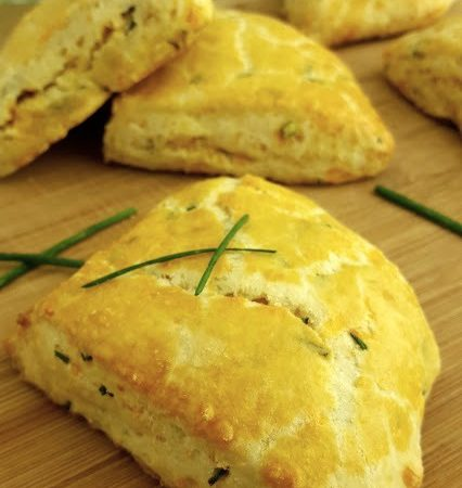 Savory-Cheddar-and-Chive-Scones