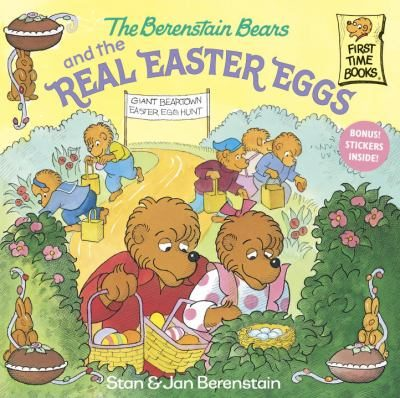 The-Berenstain-Bears-and-the-Real-Easter-Eggs-Berenstain-Stan-9780375811333
