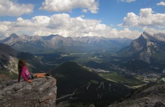 View-of-Banff-from-Mount-Norquay