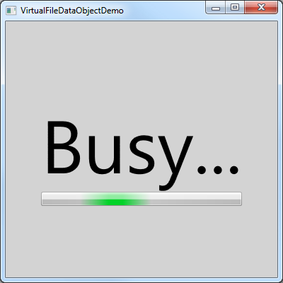 VirtualFileDataObjectDemo-Busy