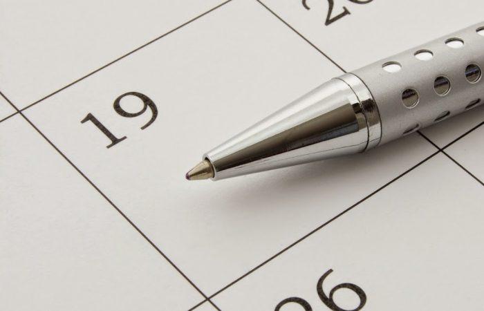 bigstock-Calendar-Page-5889495