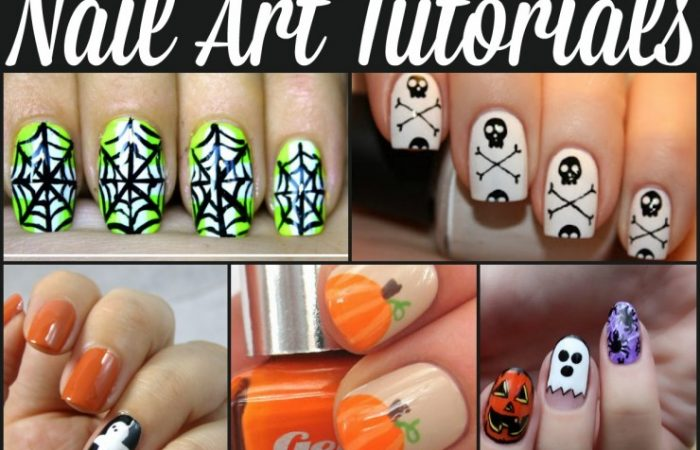 Halloween-Nail-Art-tutorials