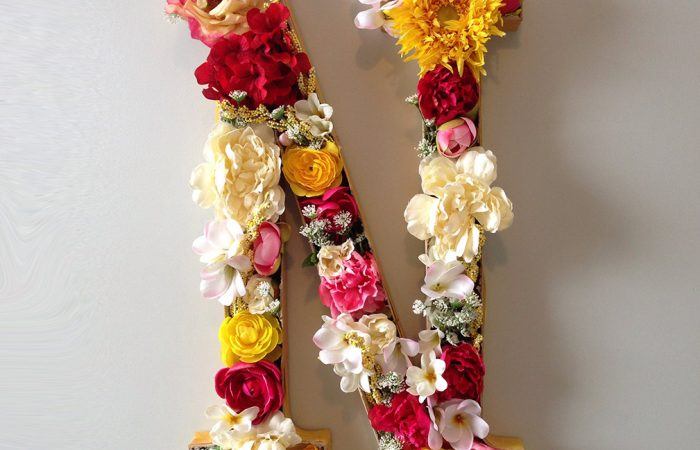 DIYflowermonogram