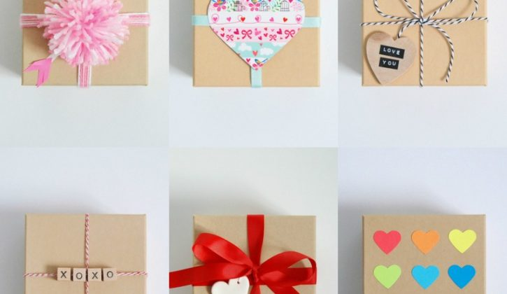 Valentines-Day-gift-wrap-ideas-for-a-simple-Kraft-Paper-Box-northstory.ca_