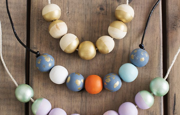 multi-colored-painted-wood-bead-necklaces
