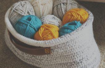 crochet-stash-basket-with-leather-handles-700x589