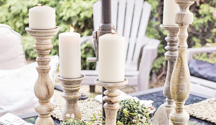 pillar-candle-sticks-on-outdoor-patio