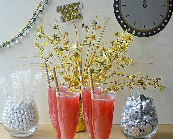 Pomegranate Pear Party Punch