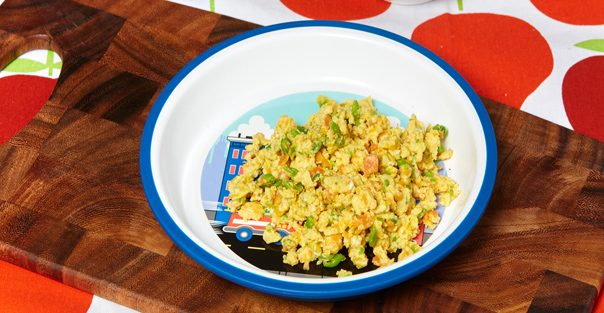 Egg and Veggie Scramble