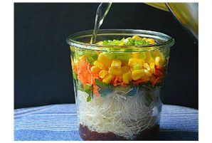 Instant Noodles in a Jar