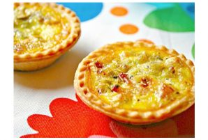 Bacon and Leek Mini Quiche