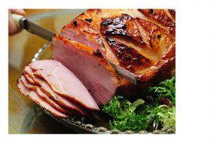Maple and Citrus Glazed Ham