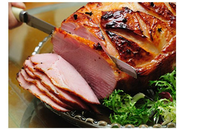 Maple and Citrus Glazed Ham