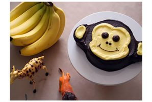 Whipped Banana Monkey Cake
