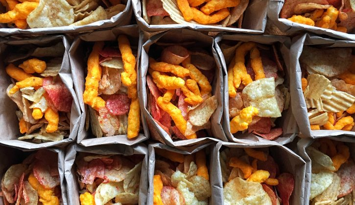 Individual Potato Chips Bags - Full Size