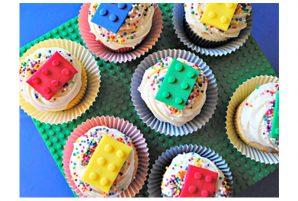Building Block Cupcakes