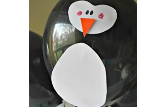 DIY Penguin Balloon