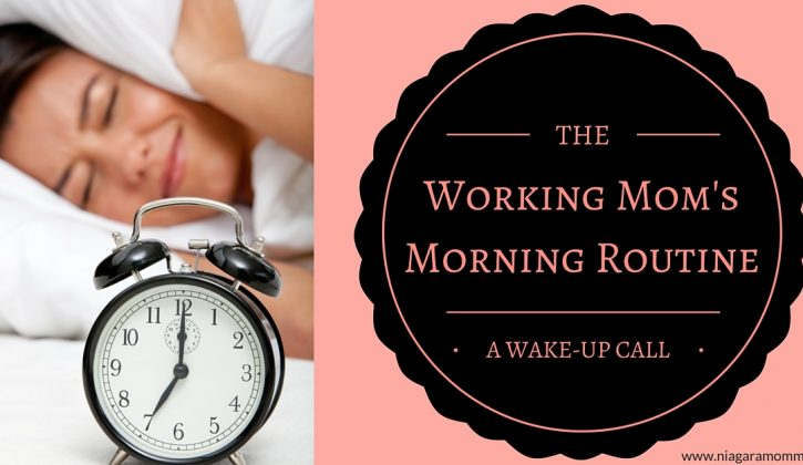 How your mornings will change as a mom going back to work