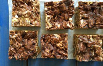 No-Bake S'mores Squares