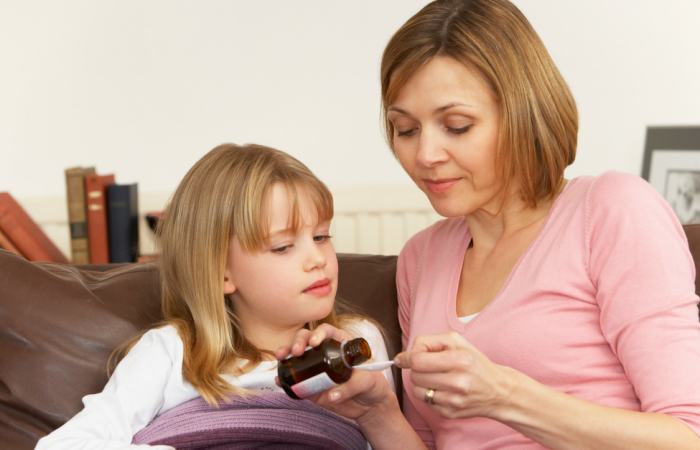 Here are a few ideas on how to keep your kid occupied, but resting when they're home sick.