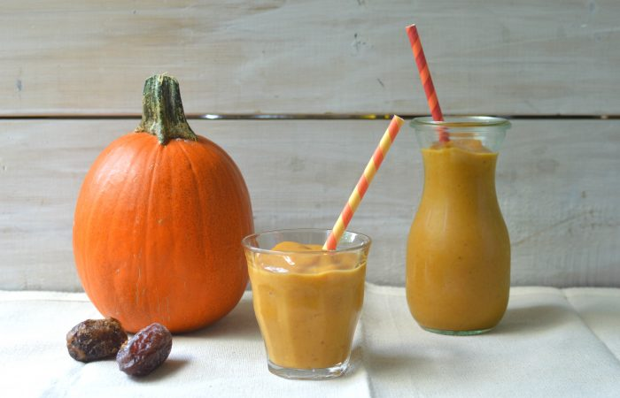 Pumpkin and Date Smoothie