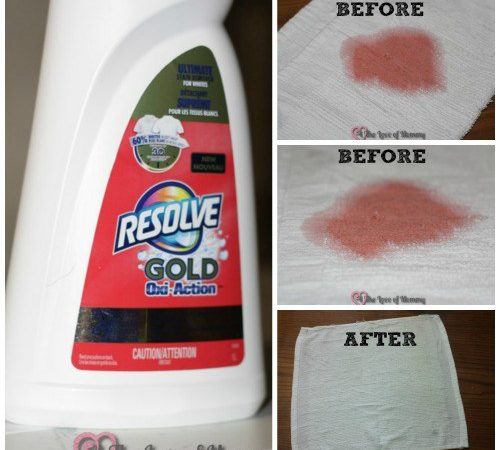 does Resolve Gold actually work on tough stains?