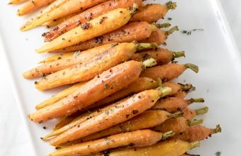 Oven-Roasted Maple Glazed Carrots