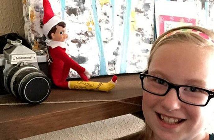 elf on the shelf broken leg