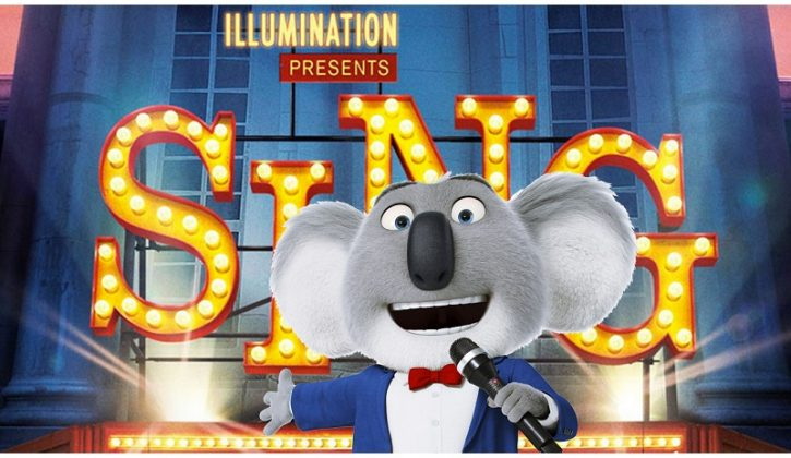 We review the new movie Sing