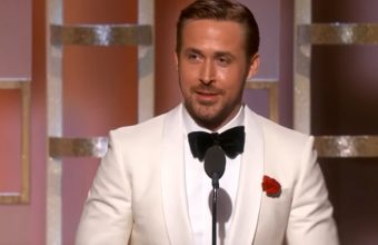 ryan gosling golden globes