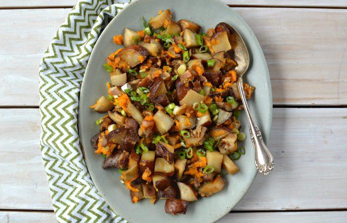 Bacon Cheddar Breakfast Potatoes Slow cooker