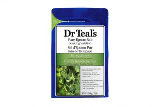 Dr Teal's Epsom Salt Soaking Solution with Eucalyptus Spearmint
