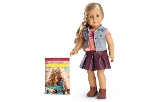 Enter for a Chance to Win the Newest American Girl Doll, Tenney Grant