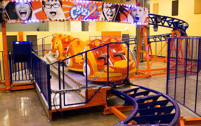 ottawa indoor permanent roller coaster for kids
