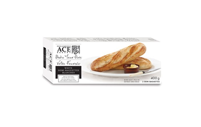 Ace Bake-Your-Own White Demi-Baguette