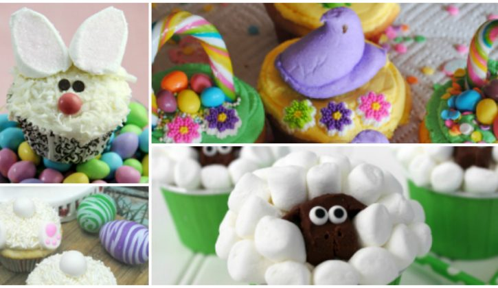 10 Cute and Easy Easter Cupcake Ideas